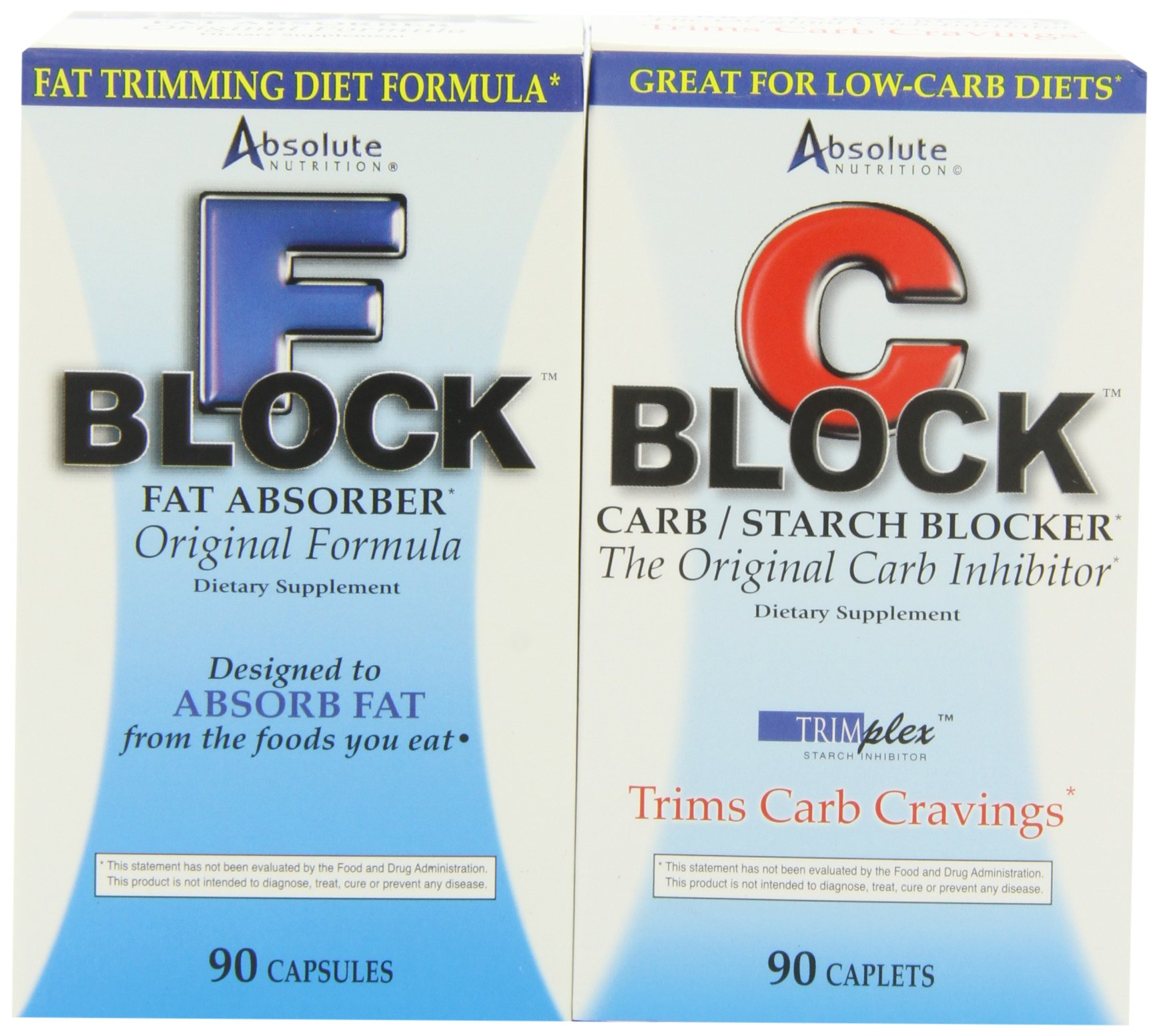 Absolute Nutrition, Carb Blocker and Fat Blocker, Dynamic Duo by Absolute Nutrition