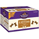 Old Mother Hubbard Classic Crunchy Natural Dog Treat, P-Nuttier Mini Biscuits Value Box, 6-Pound Box