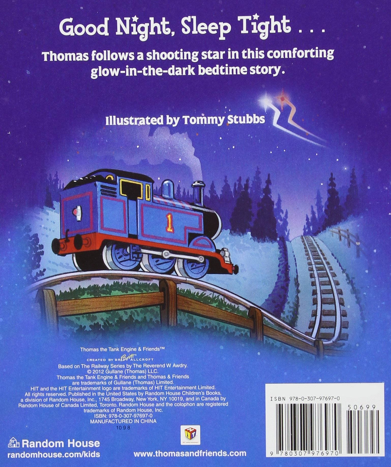 Buy Good Night Thomas Thomas Friends Book Online At Low Prices
