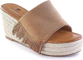 d81b1dc48c998 Ruff Hewn Wyatt Casual Wedge Sandals