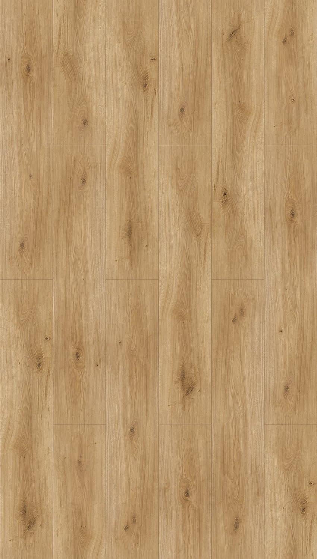 einfache Verlegung Parador Klick Laminat Bodenbelag Basic 600 Eiche Askada wei/ß gek/älkt Landhausdiele Naturstruktur Fuge 2,186m/² hochwertige Holzoptik hell grau//wei/ß 8 mm