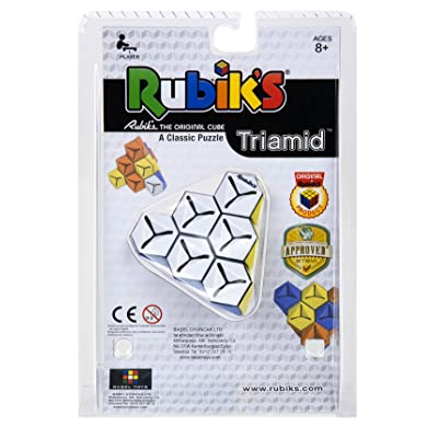 Winning Moves TRIAMID A Triangular Rubik's Puzzle: Toys & Games
