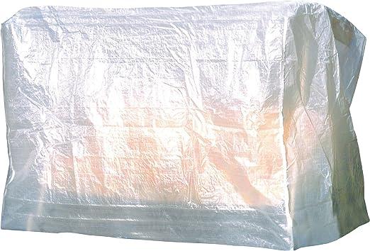 greemotion – Funda protectora para balancín de 3 asientos, Funda rectangular mueble, Cubierta protección jardín, terraza, balcón, Funda sillas, mesas, bancos, muebles, Protector mueble - resistente: Amazon.es: Jardín