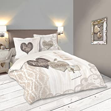 Lovely Casa Bonheur Housse de couette 240