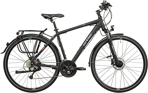Ortler Chur - Bicicletas trekking - negro Tamaño del cuadro 60 cm ...