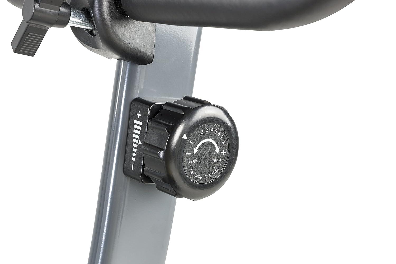 Schwarz Tunturi Cardio Fit B35 Heimtrainer fahrrad Fitnessfahrrad Hometrainer fahrrad trainer mit LCD-Bildschirmanzeige und Tablethalterung