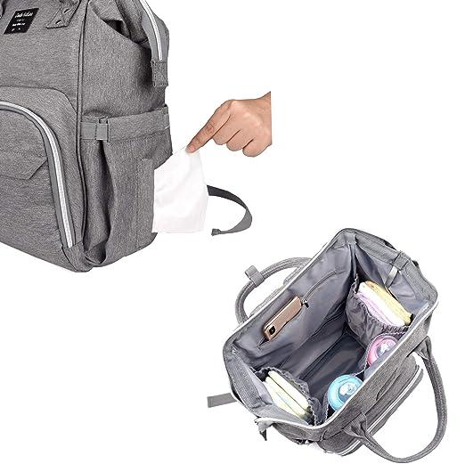 Amazon.com: Dodo - Bolsa de pañales para bebés + 2 pinzas ...