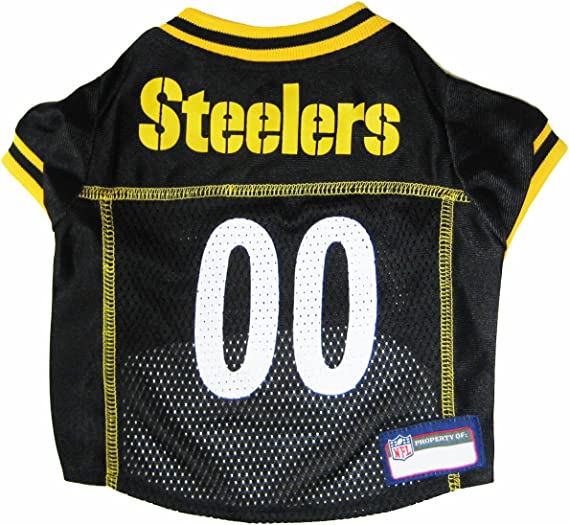 NFL PITTSBURGH STEELERS DOG Jersey, Small