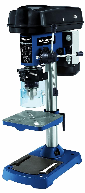 Einhell Säulenbohrmaschine BT-BD 501 (500 W, Bohr ؘ 1,5-16 mm, Bohrtiefe 50 mm, Drehzahlreglung, stufenlose Tischhöhenverstellung) Bohr ؘ 1 4250530