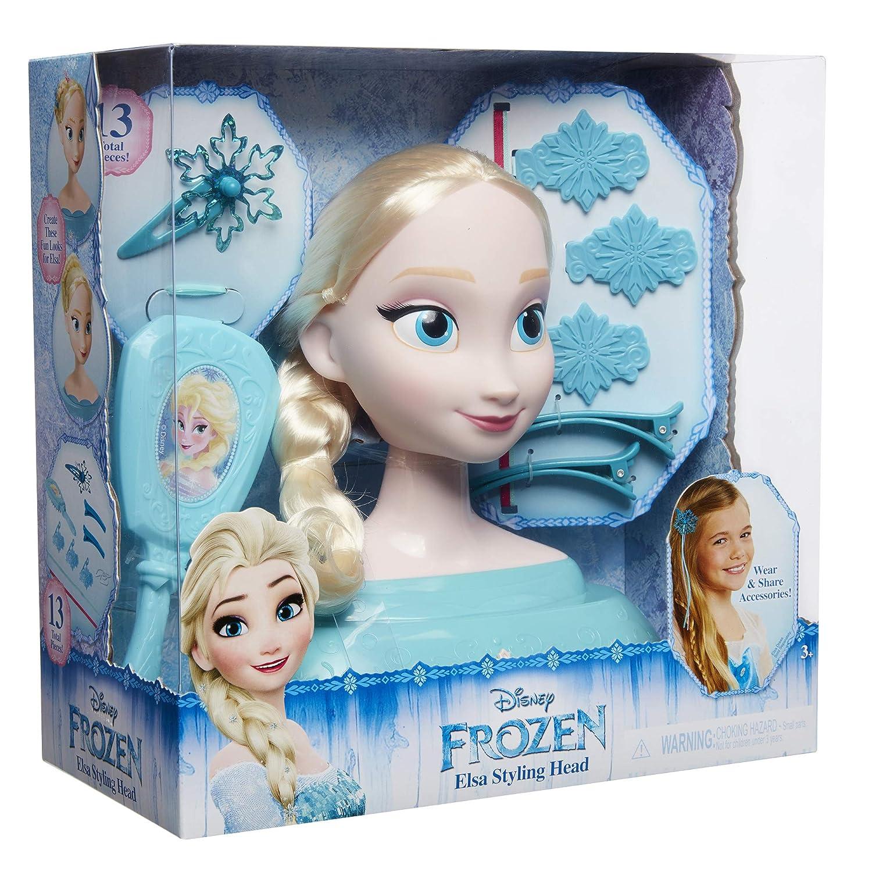 Amazoncom Frozen Disney Elsa Styling Head Playset Toys Games - Anna-frozen- makeup-