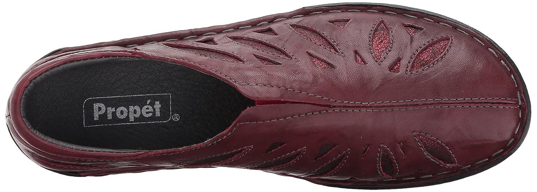 Propet Women's Cameo Flat B06XRPWQ3J 6.5 W US|Maroon