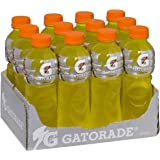 Gatorade Lemon Lime Sports Drink, 12 x 600ml