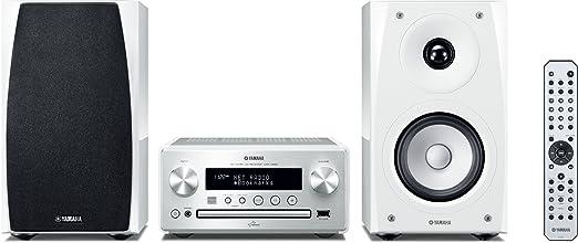43 opinioni per Yamaha Piano Craft 560 Sistema Micro Hi-Fi, Silver/White