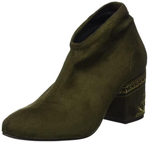 Pedro Miralles 29023, Botines para Mujer, Verde (Kaki), 40 EU: Amazon.es: Zapatos y complementos
