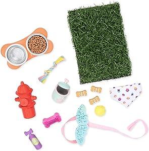 Glitter Girls by Battat – GG Pet Play Set – Puppy Accessory Set for 14