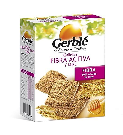Galletas fibra activa y miel gerblé 400 g