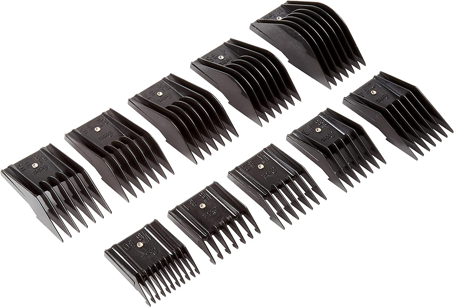 Oster 76926-900 10 Universal Comb Set Attachments Guide