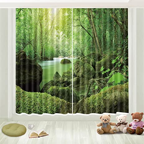 Exceptional LB 3D Blackout Decor Window Curtains For Bedroom And Living Room, With  Vibrant Image Of