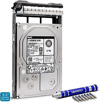 """Dell 908XX 6TB HGST HUS726060ALE614 3.5/""""SATA 6Gb//s 7.2K Hard Drive"""