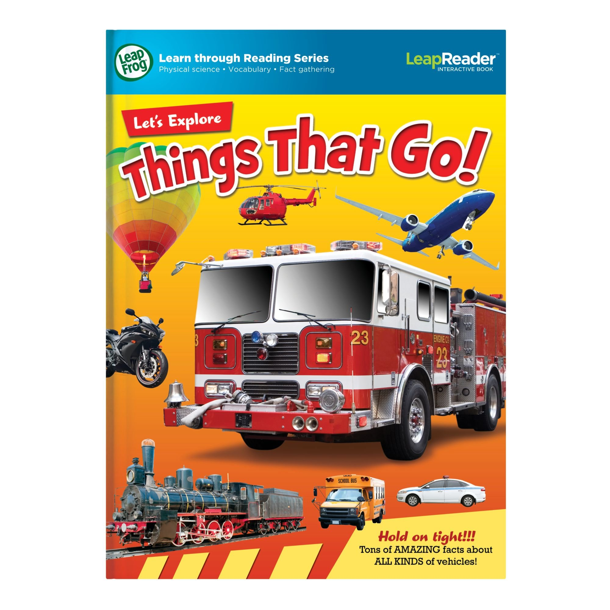 LeapFrog LeapReader Book: Let's Explore Things That Go! (works with Tag) by LeapFrog (Image #7)