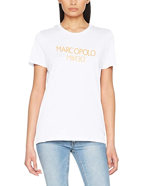 Marc O'Polo Denim 841225951529, Camiseta Mujer, Rosa (Prism 628), Medium