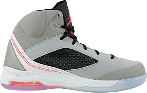 786636d2426617 Mens Nike Air Jordan Flight Remix Basketball Shoes-Wolf Grey Infrared 23-11.  Jordan Mens Nike Air Jordan Flight Remix Basketball Shoes-Wolf Grey Infrared  23 ...