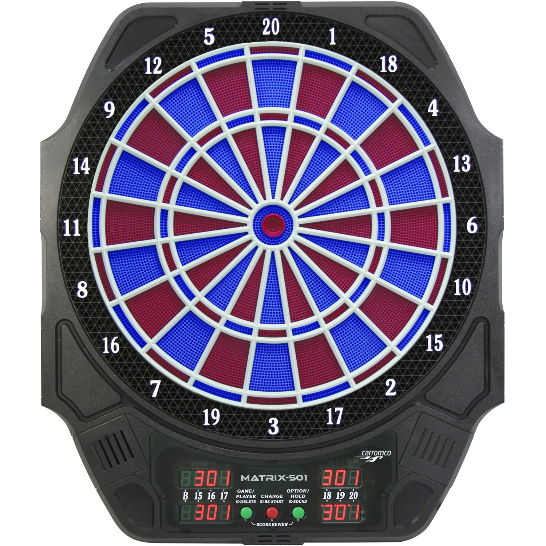 Dartspiel Matrix 501 2loch Abstand (blau / rot)