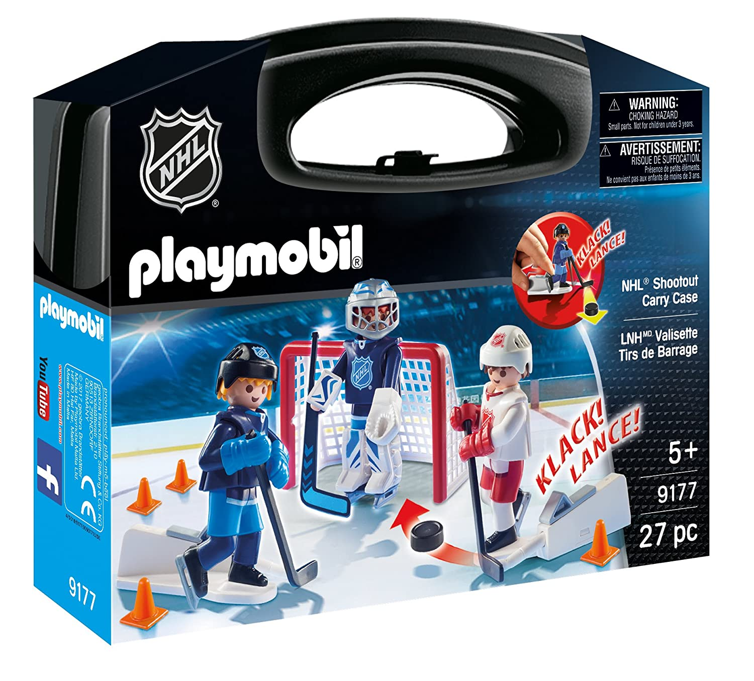 Playmobil NHL Shootout Carry Case 9177