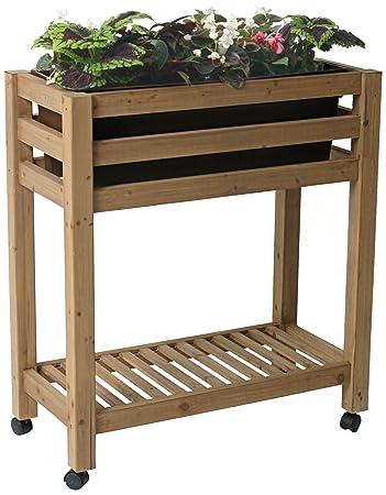 Amazoncom Algreen 32102 Ergogarden Elevated Garden Bed System