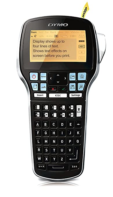 DYMO LabelManager 420P - Impresora de etiquetas (180 x 180 DPI, 14.9 mm, Transferencia térmica, 10 mm/seg, LCD, 9 etiqueta(s)) (importado): Amazon.es: ...