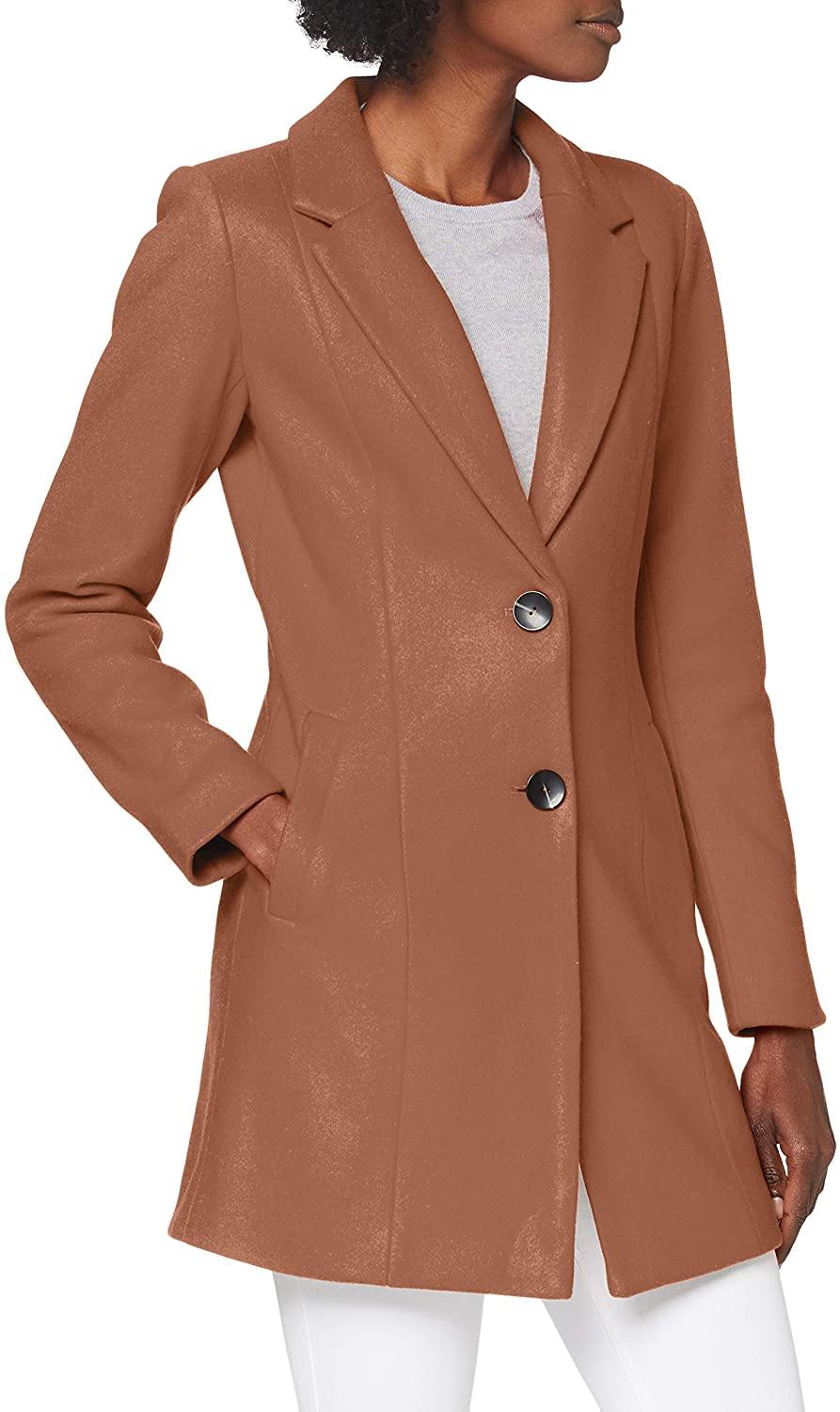 Only Onlcarmen Wool Coat CC Otw Cappotto di Lana Donna