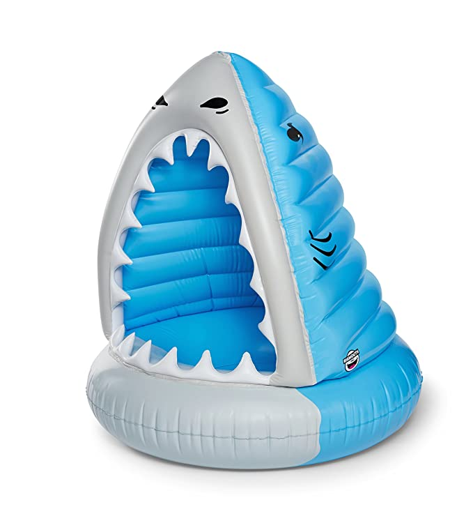 9f5cd8f14 Amazon.com: BigMouth Inc. Giant XL Pool Floats, Funny Inflatable Vinyl  Summer Pool or Beach Toy, Patch Kit Included (XL Shark): Toys & Games