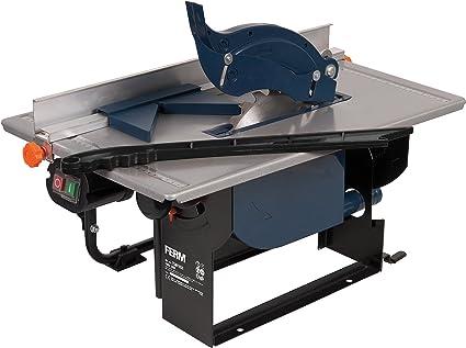 FERM TSM1032 Sierra de mesa (800 W, 200 mm, 230 V, Set de 6 Piezas): Amazon.es: Bricolaje y herramientas