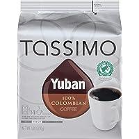 Yuban 哥伦比亚咖啡,中型烘烤度,为 Tassimo 咖啡机而产的 T-Discs,14 个