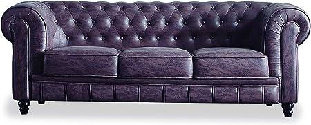 El sofá Chesterfield es un sofá elegante y vanguardista, famoso por su elegancia y capaz de llenar c