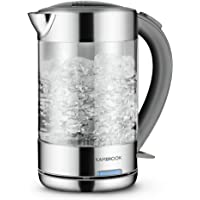 Kambrook Glass Kettle, 1.5 Litre, Clear KKE760CLR