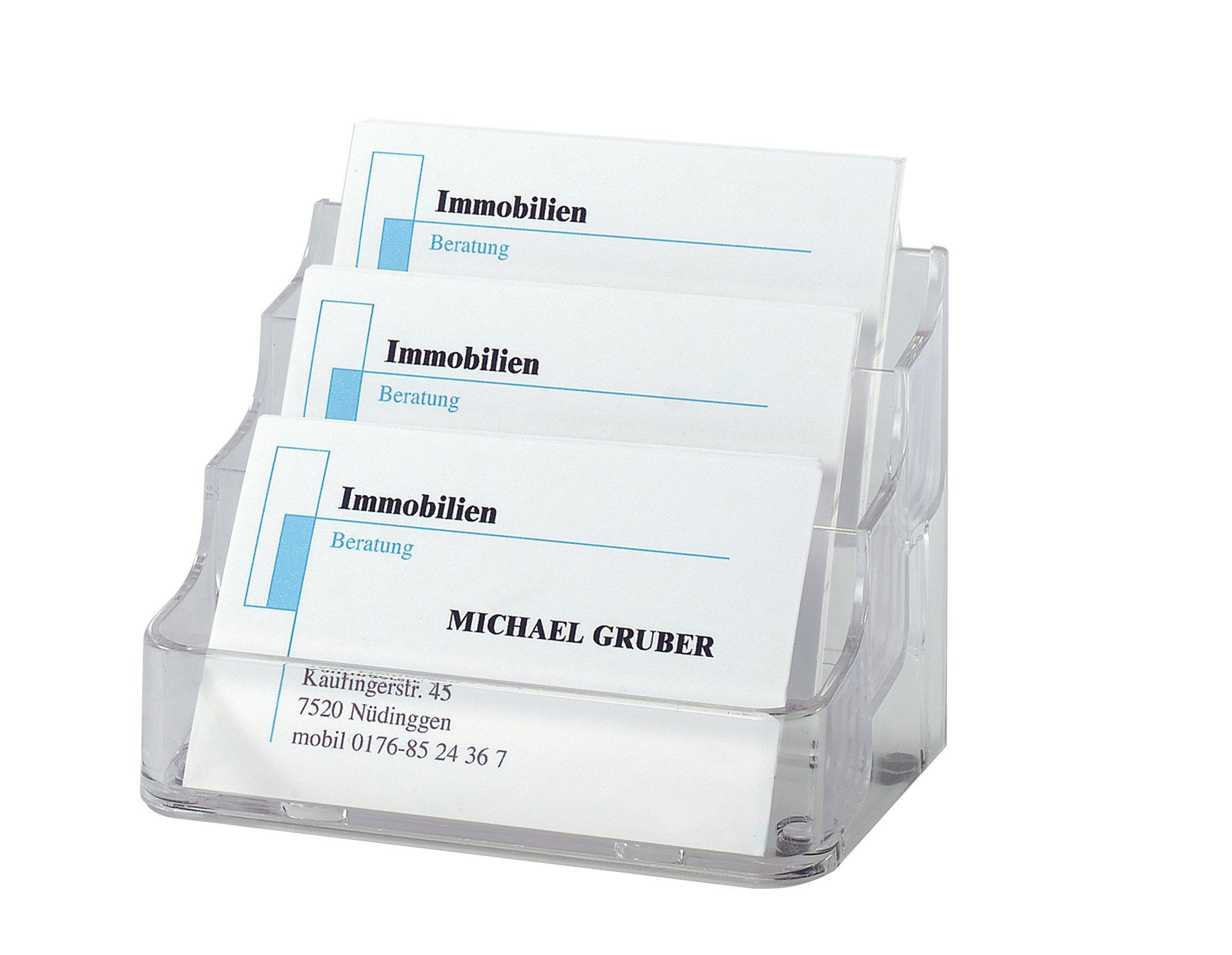 Sigel VA130 - Porta-tarjetas con 3 compartimentos product image