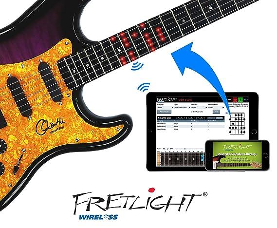 fretlight Orianthi Limted Edition inalámbrico para guitarra ...