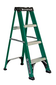 Louisville Ladder FS4004, 4 Feet, Green