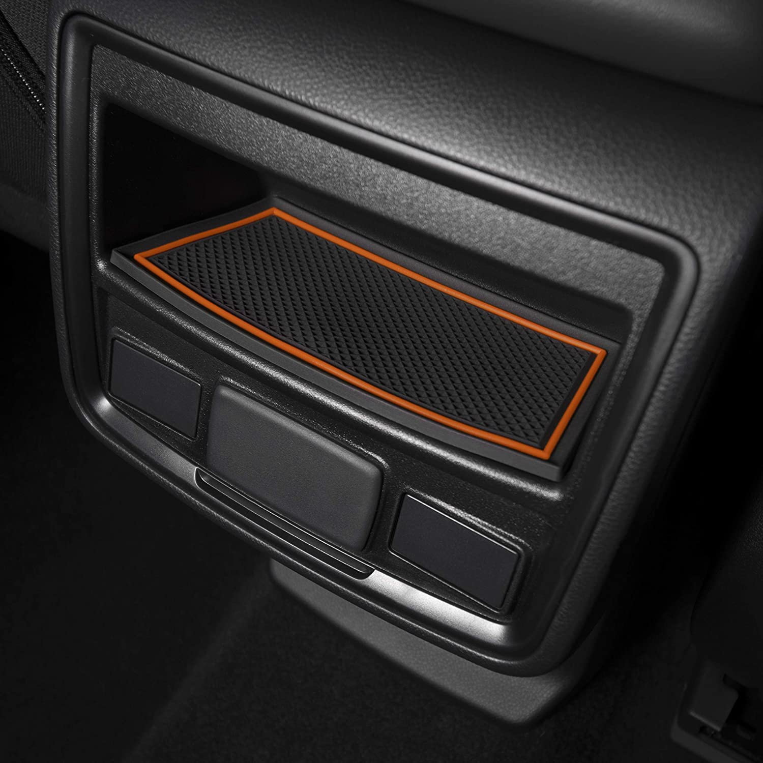 and Door Pocket Inserts 17-pc Set Console CupHolderHero for Subaru Forester 2019-2020 Custom Liner Accessories Premium Cup Holder Blue Trim