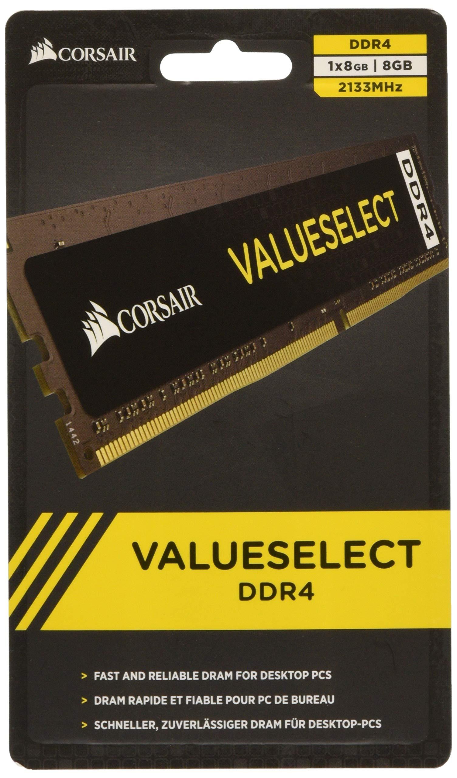 Memoria Ram 8gb Corsair Kit (1x 8gb) 2133 Mhz Cl15 288-pin Dimm Ddr4 (cmv8gx4m1a2133c15)