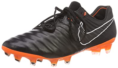3ae06775643c Nike Legend 7 Elite FG, Chaussures de Football Homme, Noir Black/White/