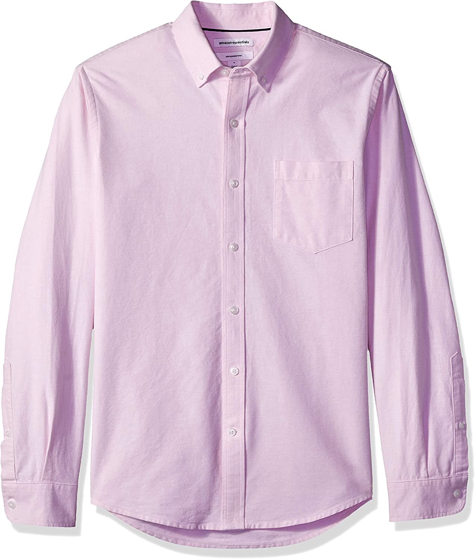 Amazon Essentials Slim-fit Short-sleeve Gingham Shirt - Camisa abotonada Hombre