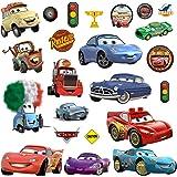 4YourLittle1 Disney Cars Adesivi da Parete decorazione cameretta bambini Murali