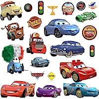 Cars 3 muurstickers voor jongens en meisjes, muurschildering als zelfklevende wanddecoratie