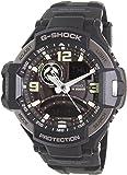 Casio G-Shock Black And Silver Gravity Defier Ga1000-1B Watch