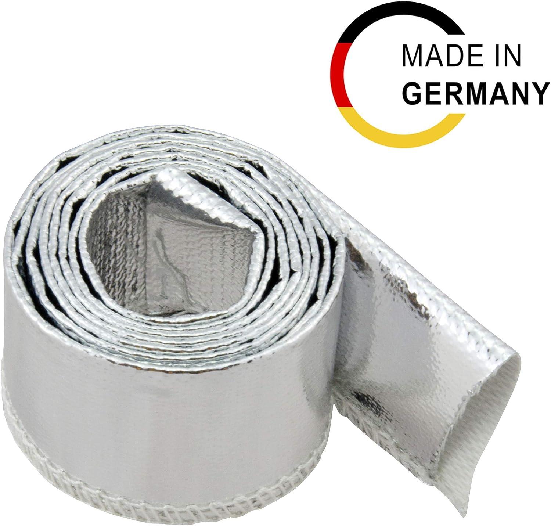 Innendurchmesser: 50mm Arlows 1 Meter Alu-Kevlar Hitzeschutzschlauch