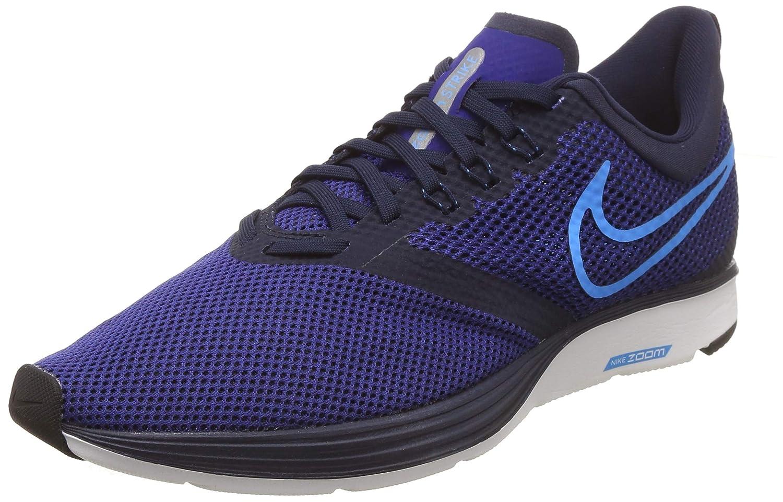 Mehrfarbig (Obsidian Blau Glow Deep Royal Blau schwarz 402) Nike Herren Zoom Strike Laufschuhe