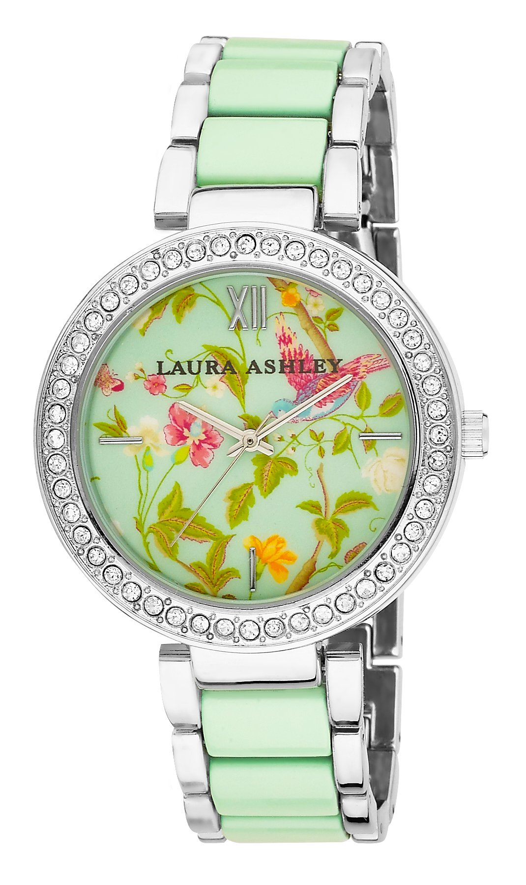 Laura Ashley Women's LA31007BL Two-Tone Summer Duck Bracelet Watch