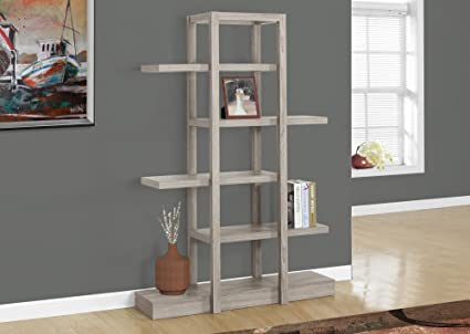 Fabulous Amazon Com 71H Dark Taupe Open Concept Display Etagere Home Interior And Landscaping Ymoonbapapsignezvosmurscom